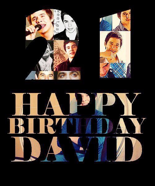 Buon Compleanno David Archuleta Davidarchuletaitalia